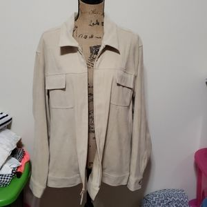 3xl tan jacket.